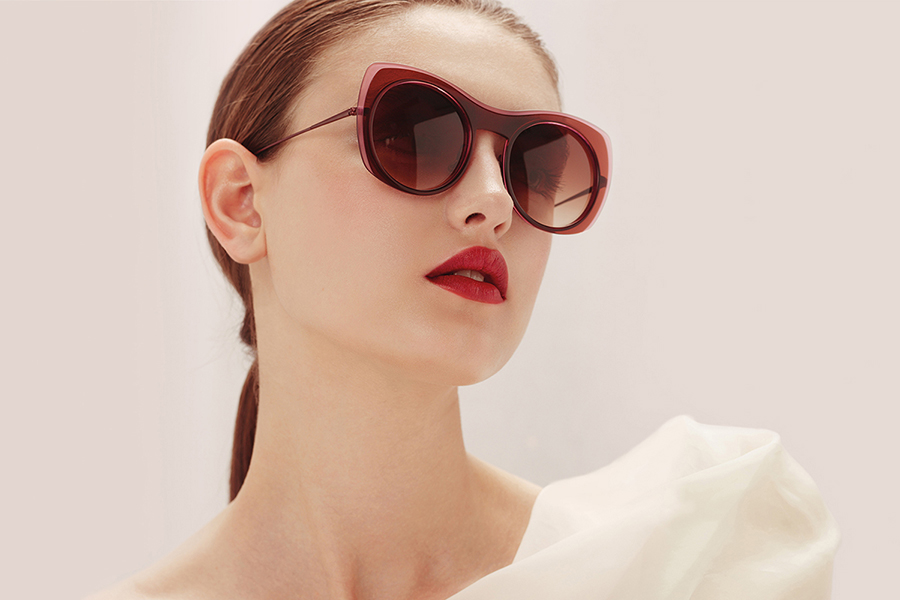 Eyeglasses by French optical company Caroline Abram from article The Best French Eyewear Brands published by FAVR the premium eyewear finder.