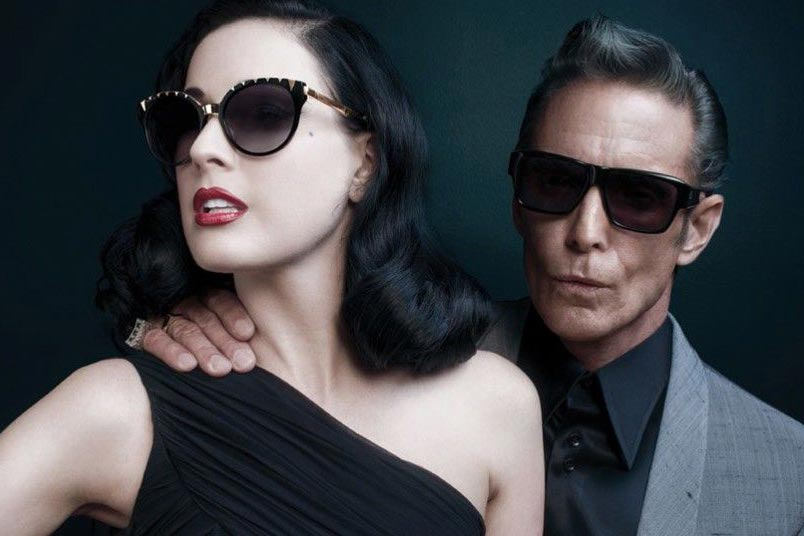 Sunglasses from American eyewear brand Dita