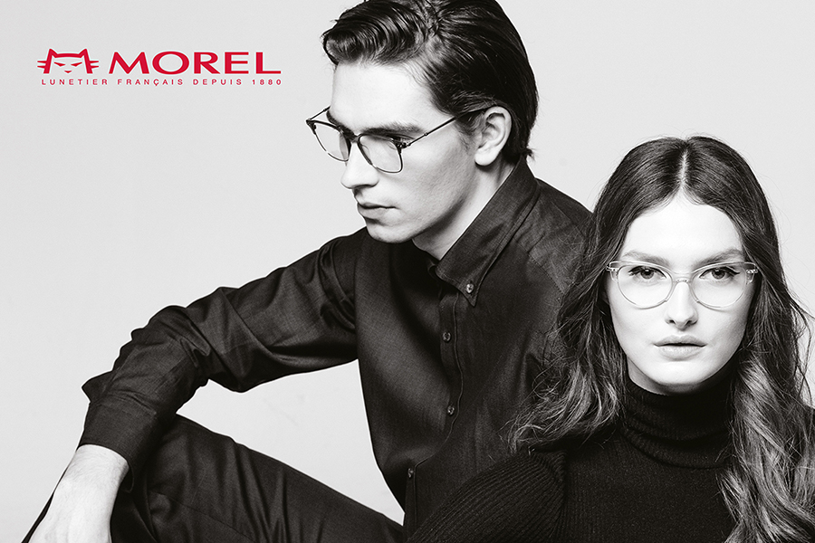 Eyeglasses by French optical company MOREL from article The Best French Eyewear Brands published by FAVR the premium eyewear finder.